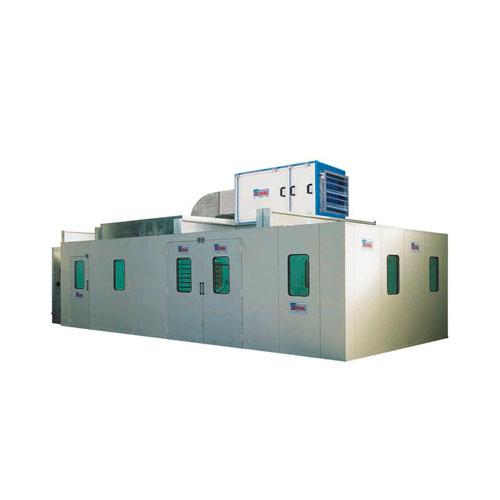 Cabine a secco - cabine pressurizzate