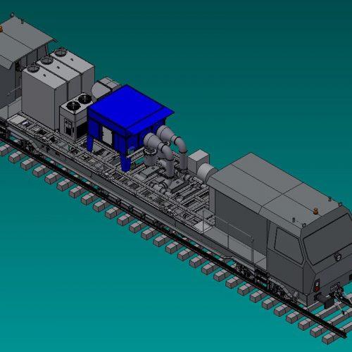Impianto aspirazione polveri Treno SRT